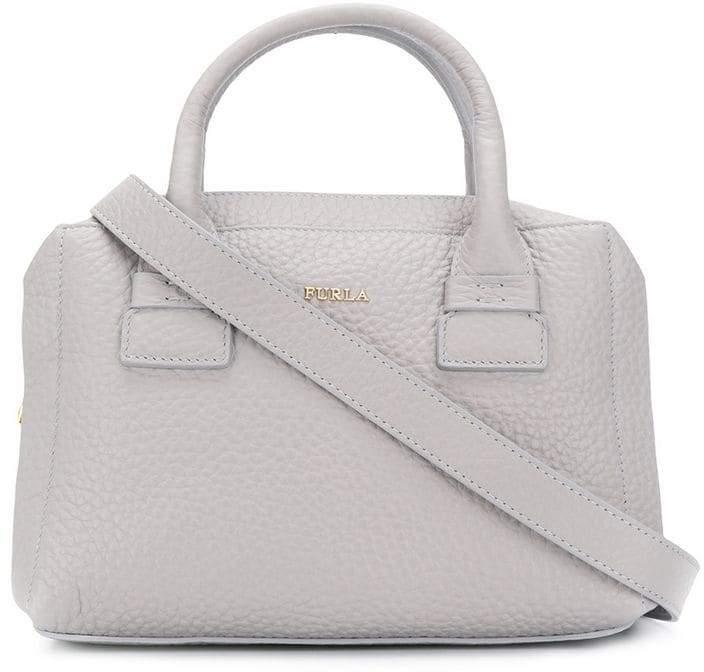 c45d95a2b Furla Gray Top Handle Handbags - ShopStyle