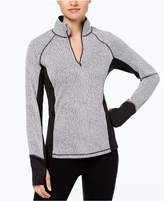 Ideology Brushed Heathered Performance Half-Zip Jacket, Created for Macy's
