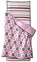 Bacati Modern Dots/Stripes Pink Nap Mat