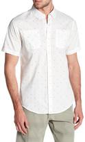 Burnside Bird Dotted Short Sleeve Contemporary Fit Shirt