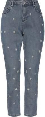 Silvian Heach Denim pants - Item 42743379UB