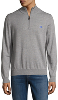 Brooks Brothers DUK Merino Half Zip Sweater