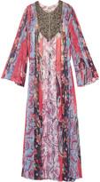 Haute Hippie Marisa bead-embellished silk-chiffon gown