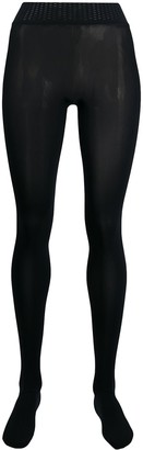 Wolford contrasting waistband tights