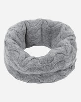 N.Peal Cable Cashmere Snood