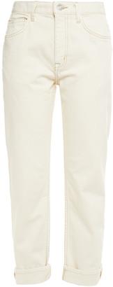Current/Elliott The Original Cropped Boyfriend Jeans