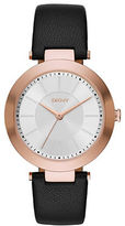 DKNY Stanhope Rose Goldtone Stainless Steel Watch, NY2468