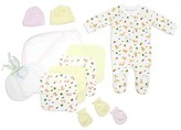 Bambini Newborn Baby Shower Layette Gift Set, 13pc (Baby Girls)