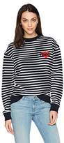 Tommy Hilfiger Tommy Jeans by Women's Long Sleeve T-Shirt Heavyweight Knit Tee