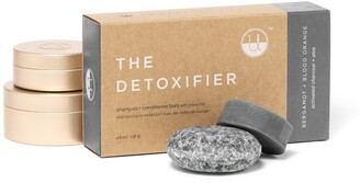 Unwrapped Life The Detoxifier Shampoo And Conditioner Bar Travel Set