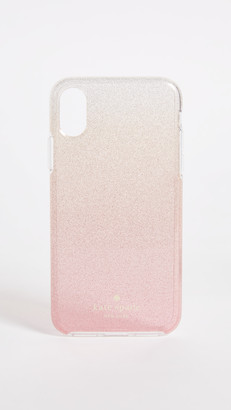 Kate Spade Pink Glitter Ombre iPhone X /XS Case