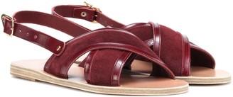Ancient Greek Sandals Mari suede sandals
