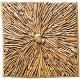 Uttermost Jumano Teak Root Wall Panel in Natural Finish