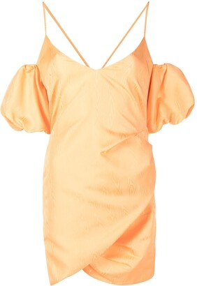 Patrizia Pepe Abstract-Print Plisse Dress