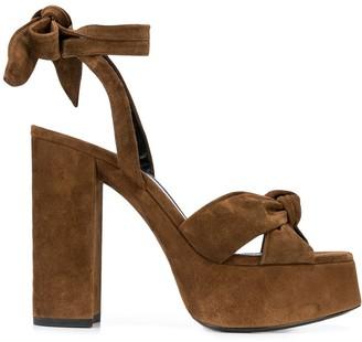 Saint Laurent Bianca 110mm sandals