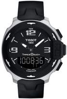 Tissot Men's T-Race Touch Multifunction Rubber Strap Watch, 42Mm