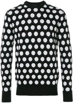 Diesel Black Gold polka dots sweatshirt