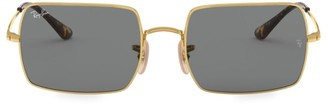 Ray-Ban RB1969 54MM Rectangular Metal Sunglasses
