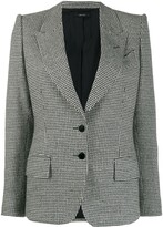 Tom Ford houndstooth knitted blazer