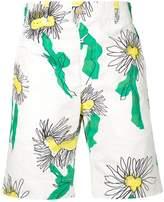 Julien David floral deck shorts