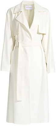 Michelle Waugh The Carina Belted Trench Coat