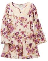 Lucky Brand Charlene Floral Dress (Little Girls)