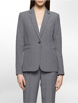 Calvin Klein Glen Plaid Suit Jacket