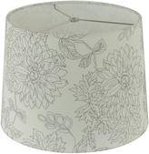 Asstd National Brand Embroidered Linen Shade
