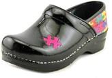 Sanita Original Professional Hope Women Round Toe Leather Black Clogs.