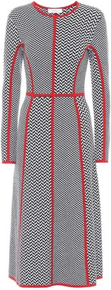 Gabriela Hearst Exclusive to Mytheresa Joslyn wool-blend midi dress