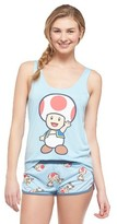 Nintendo Women's Toad Says Hi Pajama Set