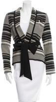 Marissa Webb Two-Tone Striped Jacket