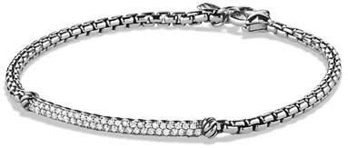 David Yurman Metro Pavé Diamond Bar Bracelet