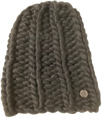 Lost & Found Ria Dunn Anthracite Wool Hats & pull on hats