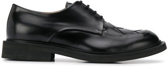 Bottega Veneta intrecciato weave Derby shoes