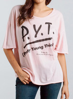 Junk Food Clothing Pretty Young Thing Tee-shell-l