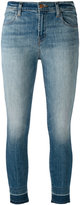 J Brand faded skinny jeans - women - Cotton/Polyester/Spandex/Elastane - 25