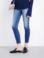 AG Jeans Super-skinny mid-rise jeans