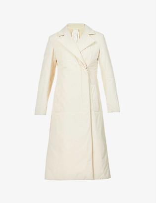 Sportmax Oregon wrap-over shell coat