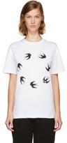 McQ White Circle Swallow T-shirt