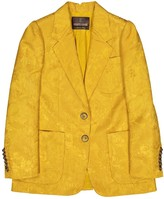 Roberto Cavalli Yellow Wool Jacket for Women