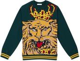 Dolce & Gabbana Lion Crew Neck Sweater