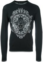 Versace baroque Medusa head sweatshirt