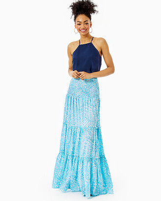 Lilly Pulitzer Hanalei Tiered Maxi Skirt