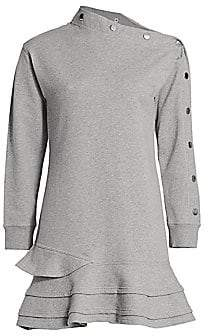 Derek Lam 10 Crosby Women's Cressida Sweatshirt Dress
