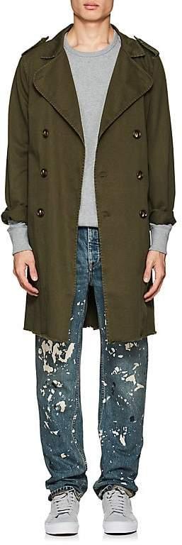 NSF Men's Cotton Twill Trench Coat