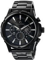 Rip Curl Men's A2813-MID Maverick Chrono Analog Display Analog Quartz Black Watch