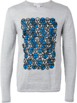Comme des Garcons printed sweatshirt - men - Wool - S
