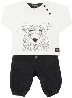 Bear Cotton T-shirt & Pants