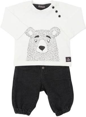 Yellowsub Bear Cotton T-shirt & Pants